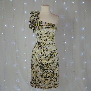 Jessica Simpson One Shoulder Floral Dress